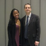 Majora Carter with BardCEP Director Eban Goodstein