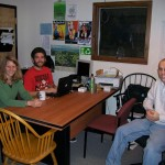 (From left to right) Laurie Husted, Me, Dan Smith