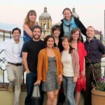 The group in Oaxaca