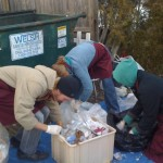 BardCEP Waste Audit Team gettin' trashy