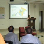 Presentation during the Bundelkhand climat resilient development workshop in Bhopal