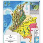 Mapa geológico de Colombia. Foto: La Agencia Nacional de Hidrocarburos