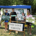 Maryland Sierra Club Summer 2012 Interns at Mattawoman Creek Kayak Outing