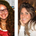 Lauren Frisch (l) and Danielle Bisset (r) are first year master students at the Bard Center for Environmental Policy.