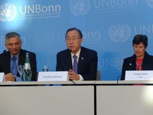 Ban Ki-moon in Bonn