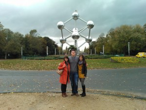 Brussels with my cousins