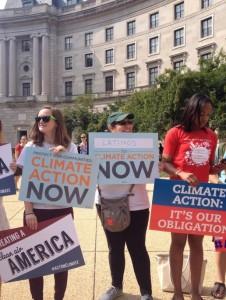 Rally at the EPA