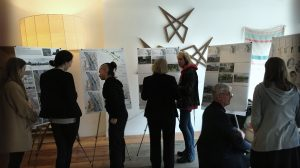 Cornell Students present their work in Catskill, NY.