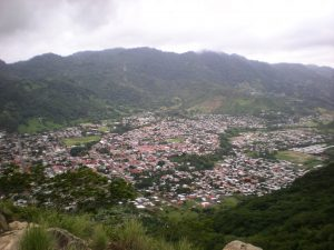 The city of Jinotega is tucked in a valley, surrounded by mountains that support hundreds of coffee farms.