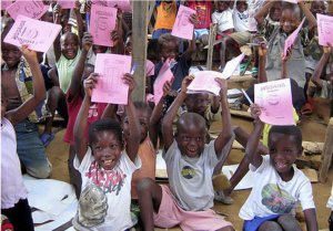 A local primary school supported by Jadora's Isangi project. Source: Jadora website