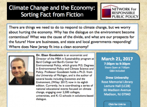 Jobs Versus the Environment? Video with CEP Director Goodstein