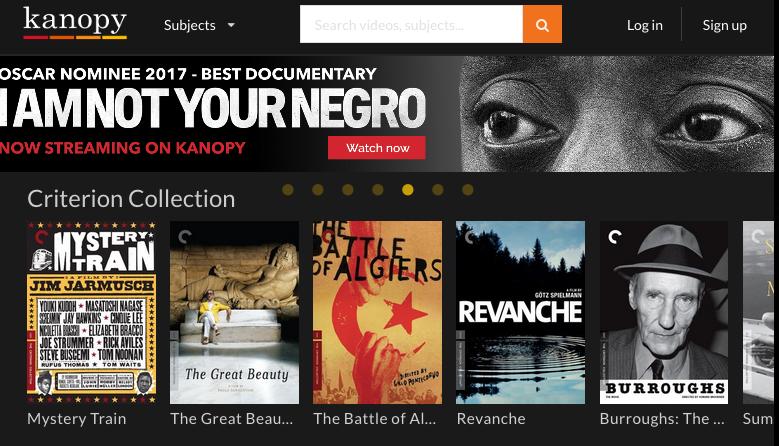New Database – Kanopy   Stevenson Library News