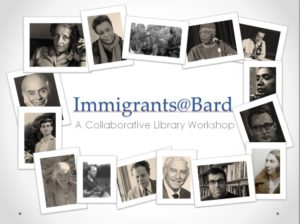 Immigrants@Bard item