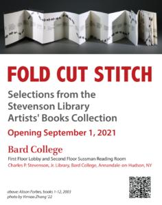 Fold Cut Stitch: Artists' Books Collection item