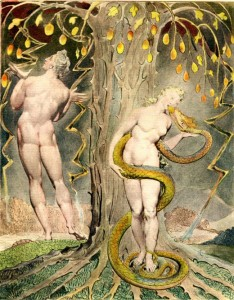 Eve and serpent