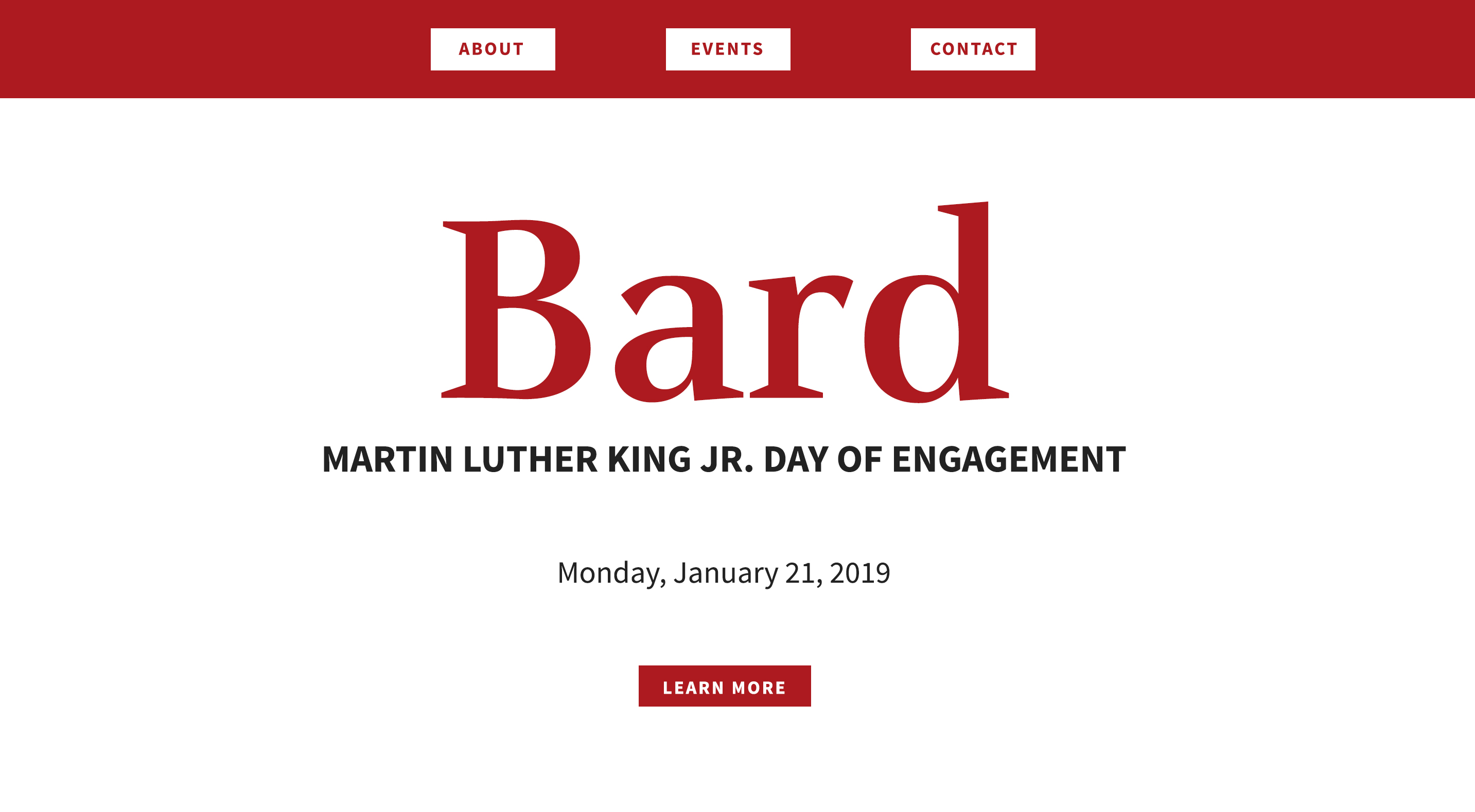 MLK Day of Engagement