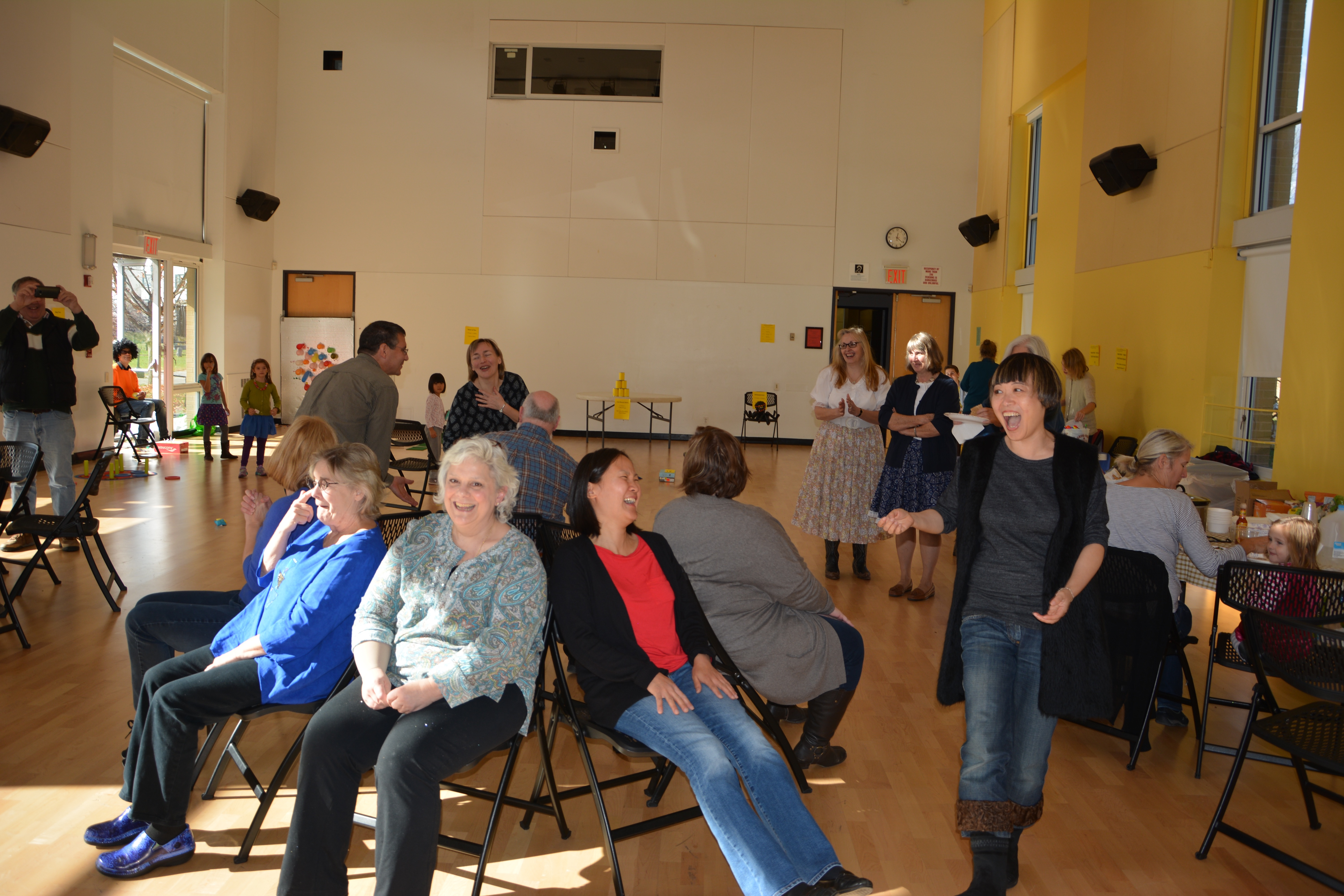 Musical chairs speed dating