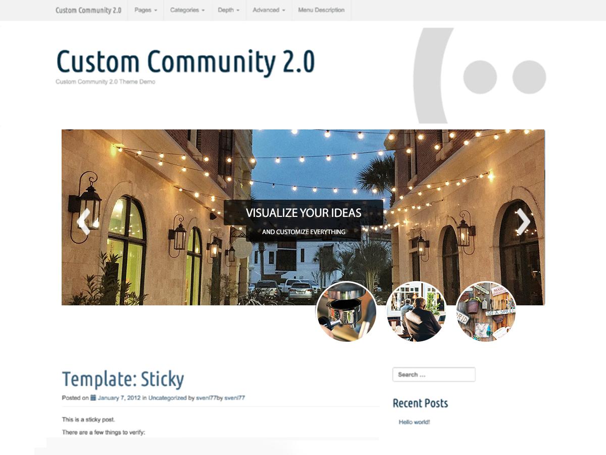 Custom Community