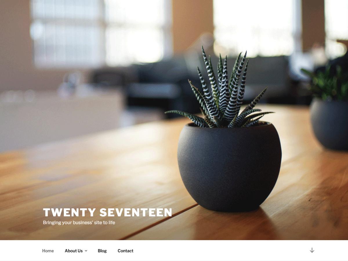 Twenty Seventeen